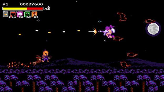 Savage Halloween - Nintendo Switch eShop - screen 02