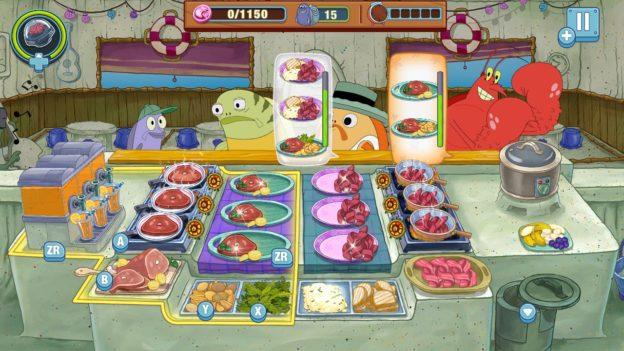 SpongeBob: Krusty Cook-Off - Nintendo Switch - screen 1