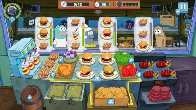 SpongeBob: Krusty Cook-Off - Nintendo Switch - screen 2