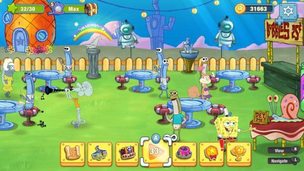 SpongeBob: Krusty Cook-Off - Nintendo Switch - screen 3
