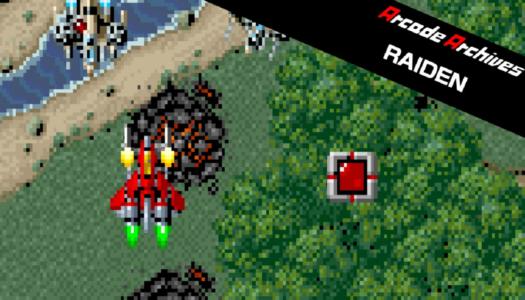 Review: Arcade Archives RAIDEN (Nintendo Switch)