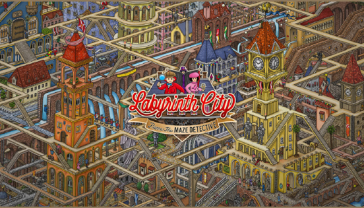 Review: Labyrinth City: Pierre the Maze Detective (Nintendo Switch)