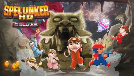 Review: Spelunker HD Deluxe (Nintendo Switch)